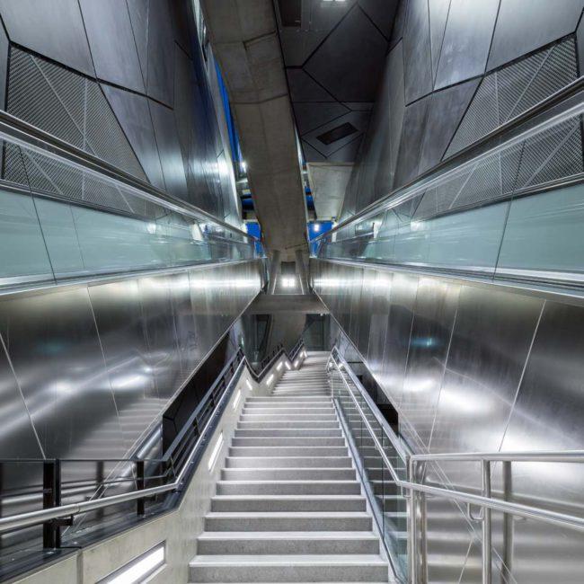Nord Süd Stadtbahn Köln, Severinstraße, Architekturfotografie ©Martin Gaissert