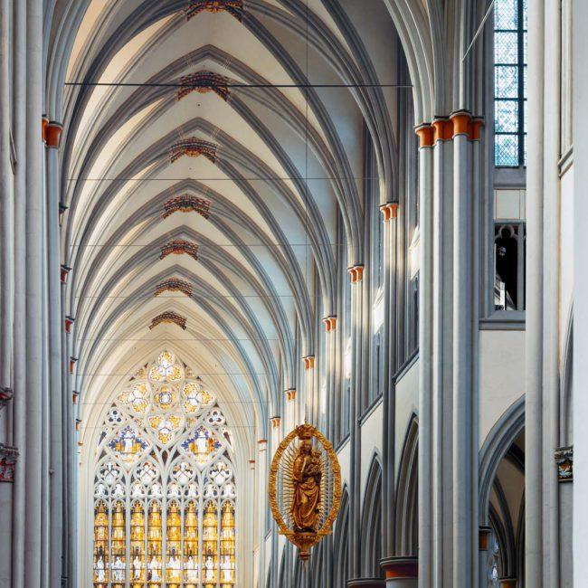 Altenberger Dom Odenthal, Architekturfotografie ©Martin Gaissert