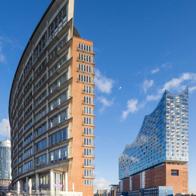Hanseatic Trade Center Hamburg, Architekturfotografie ©Martin Gaissert