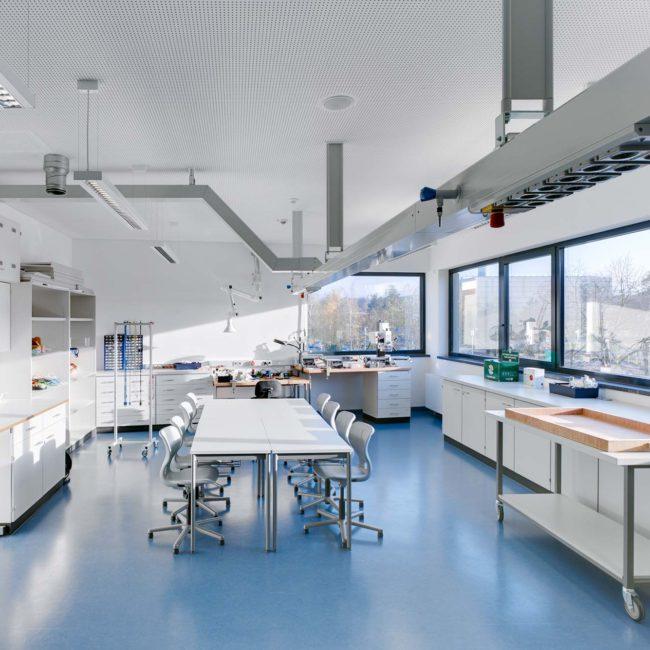 JuLab Forschungszentrum Jülich, Interieurfotografie ©Martin Gaissert