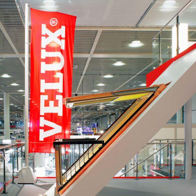 Velux Dachfenster Swissbau Basel, Messefotografie ©Martin Gaissert