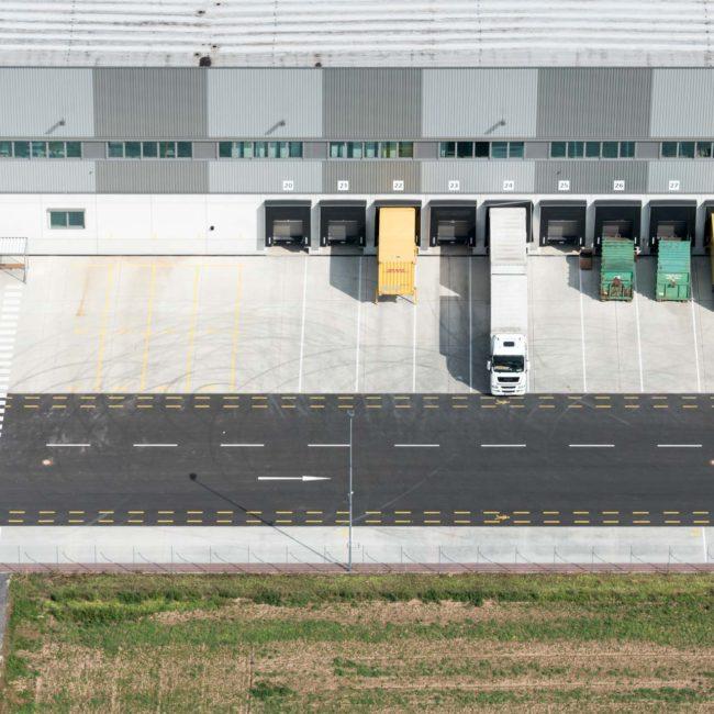 DHL-Logistikzentrum Euskirchen, Luftbild ©Martin Gaissert